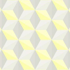Papier peint géométrique tendance