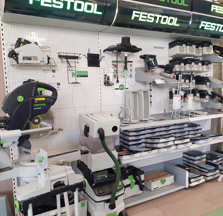 Festool : tout le matériel professionnel chez Coste Peintures!